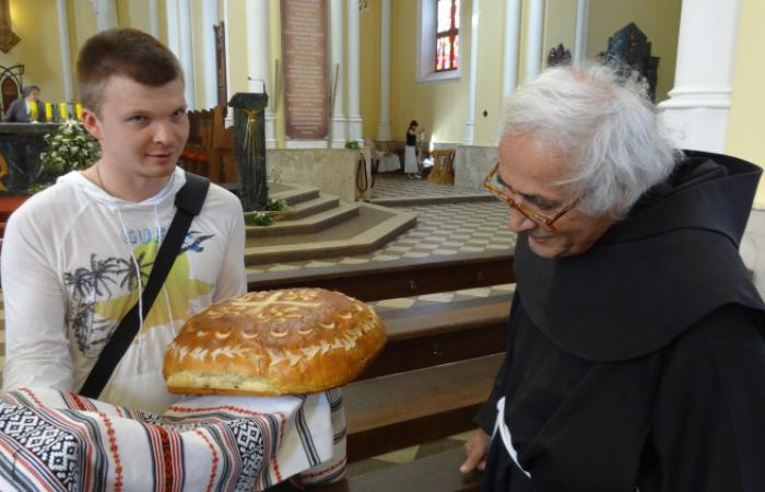 Moscow, June 2013, Friendship Bread , Fr. Armando Pierucci in Concert